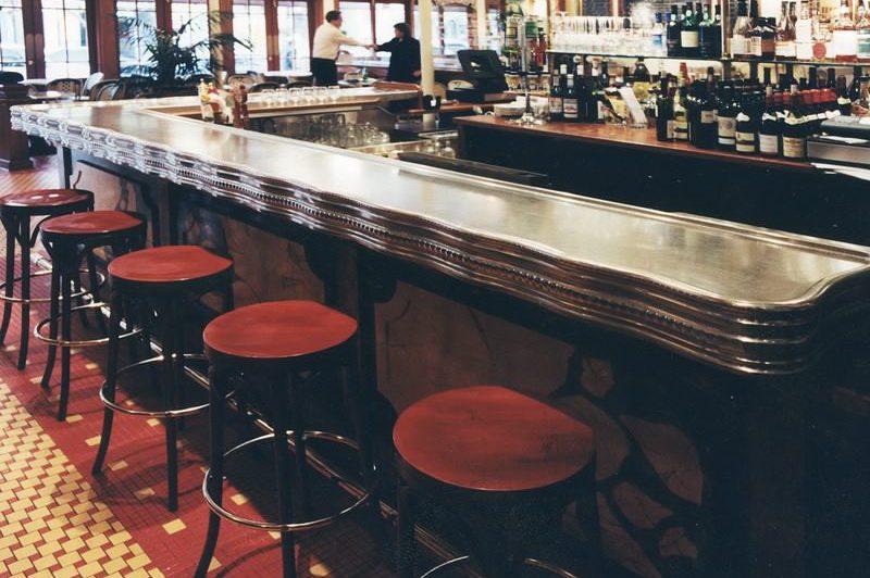 Comptoir de bar Nectoux à Chicago