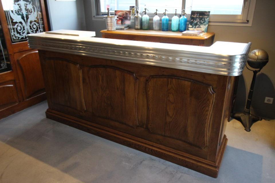 fabricant comptoir bar ancien