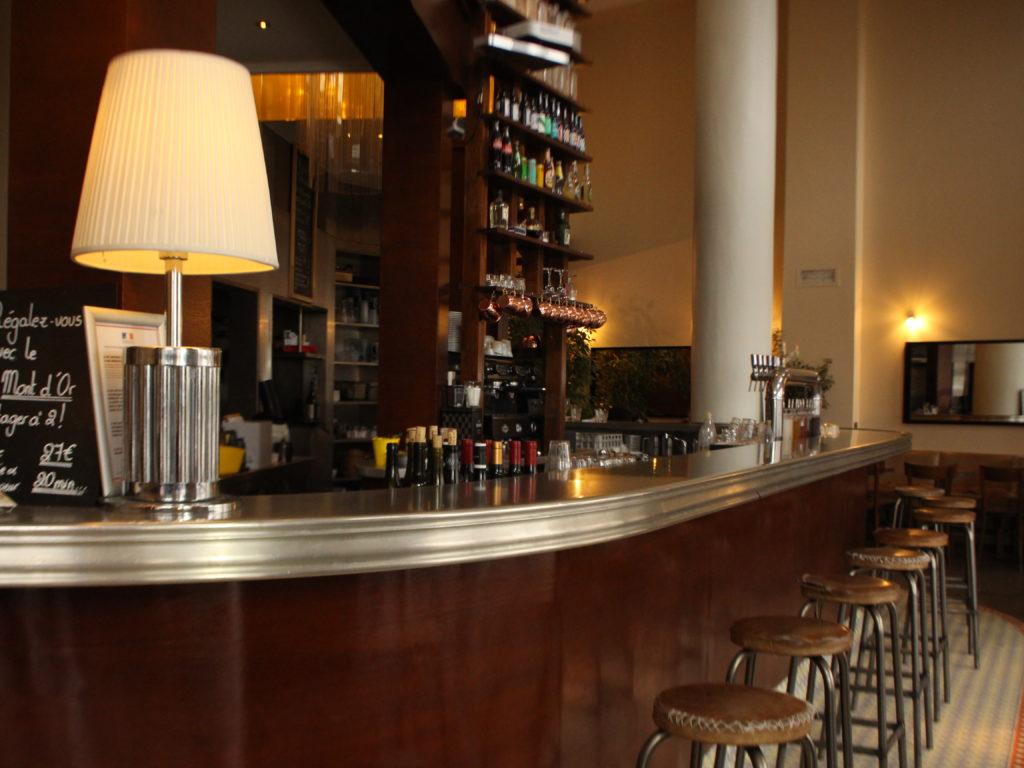 Comptoir bar la cantine de La Cigale